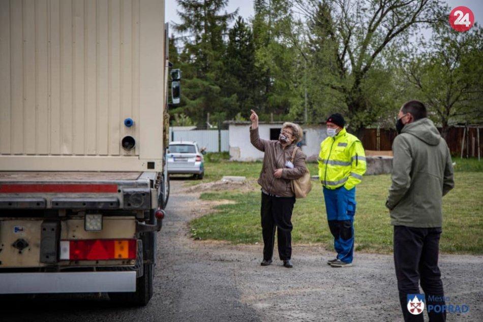 Mesto objednalo prenájom kontajnerov: Budú slúžiť na izoláciu ľudí bez domova