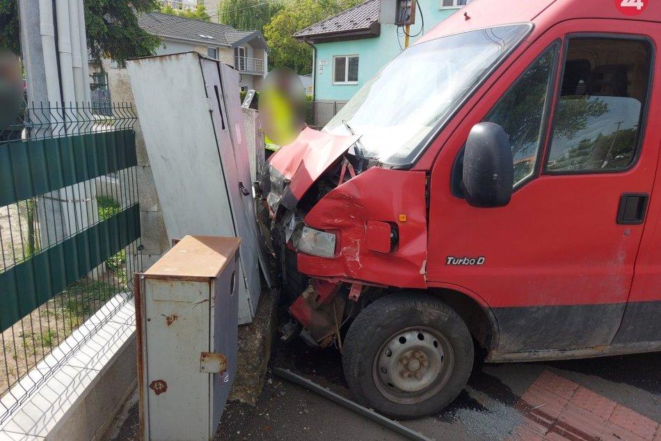 Vážna dopravná nehoda v Trebišove