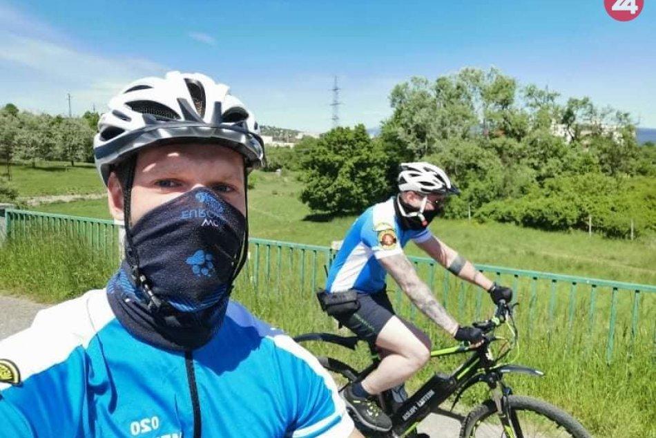 V OBRAZOCH: Zvolenskí policajti hliadkujú aj z bicyklov