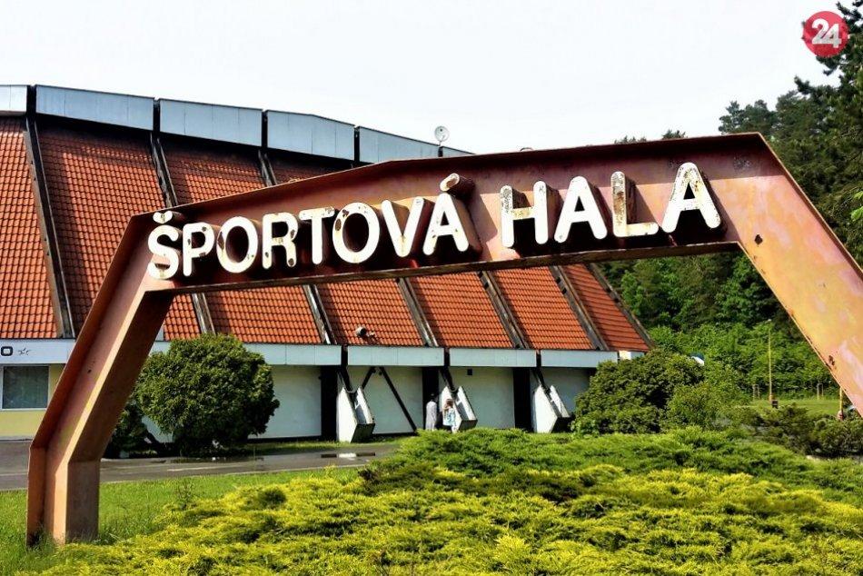 FOTO: Vzhľad Športovej haly v Považskej Bystrici by sa mal zmeniť