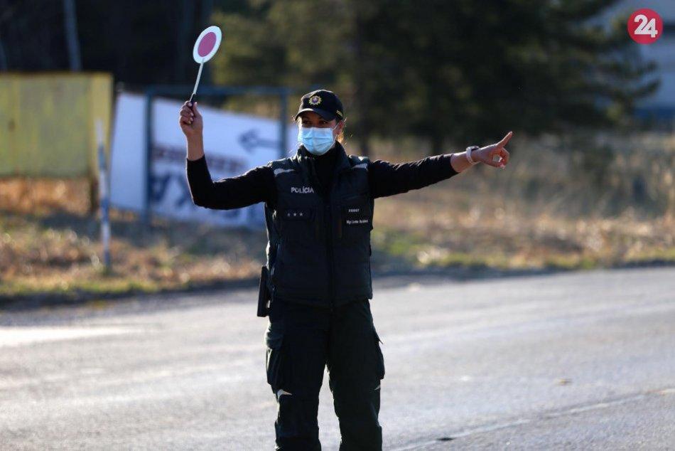 V OBRAZOCH: Banskobystrickí krajskí policajti v akcii