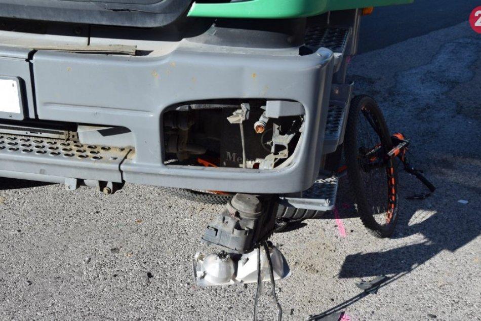 Cyklista skončil s vážnymi zraneniami