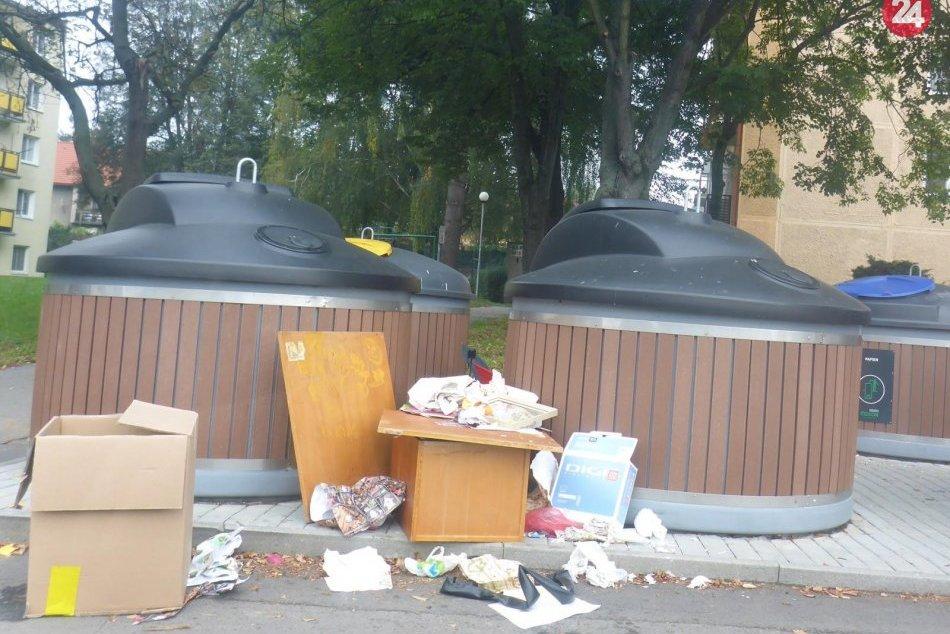 V OBRAZOCH: Nevyhadzujte odpad mimo zberných nádob