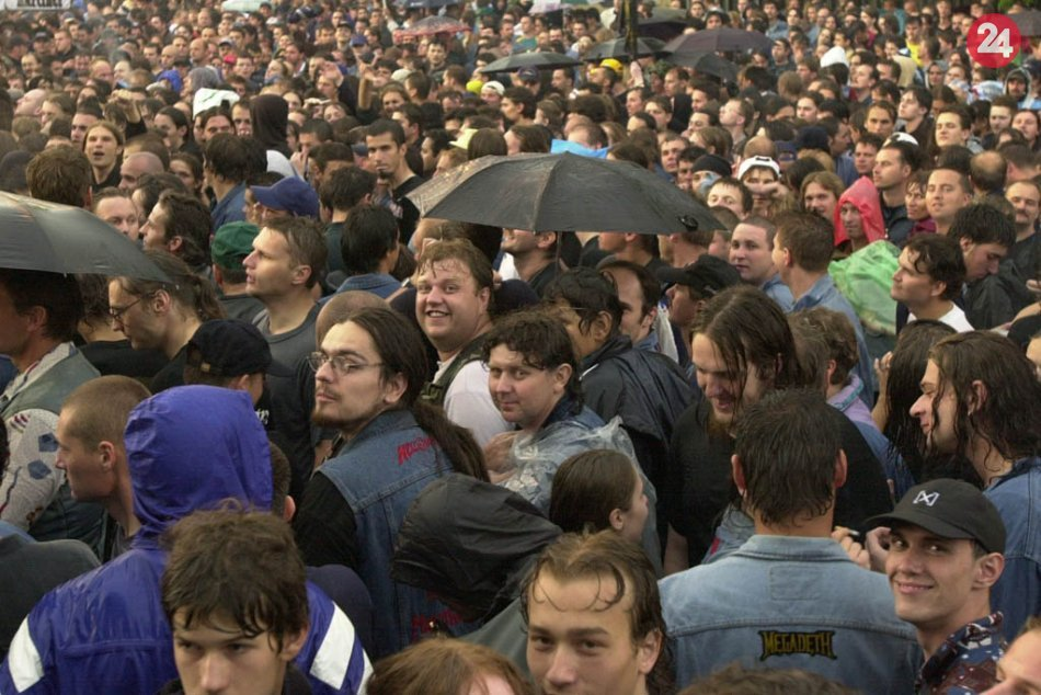 V OBRAZOCH: Bystrica pred 21 rokmi zažila koncert Iron Maiden