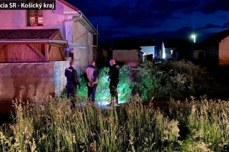 Rušná noc v Smižanoch: Policajti naháňali útočníka v poli!
