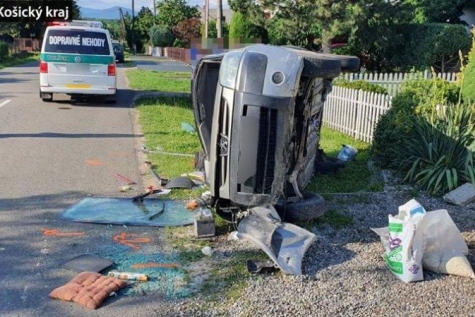Šoférovi prišlo nevoľno: OBRAZOM z miesta nehody