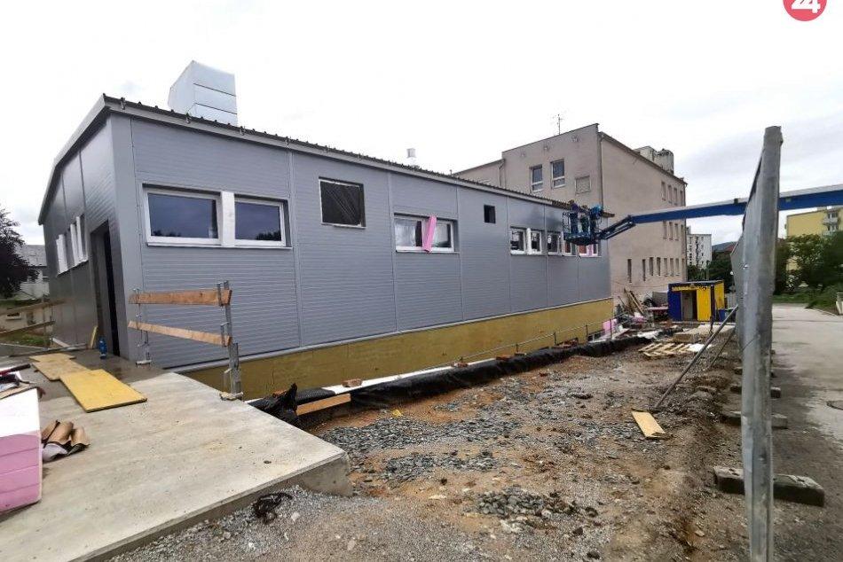 V OBRAZOCH: V Nemocnici Zvolen pokračuje výstavba nového urgentného príjmu
