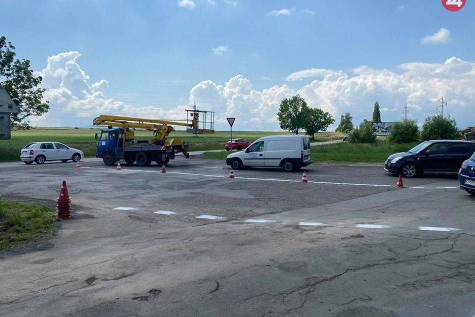 Zmena dopravného značenia na známom vjazde do Popradu
