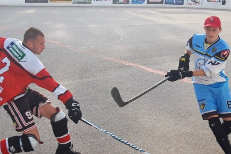 Obrazom: Súboje Prešovskej hokejbalovej ligy v play off