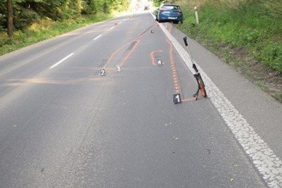 V OBRAZOCH: Polícia hľadá svedkov dopravnej nehody neďaleko Lučenca