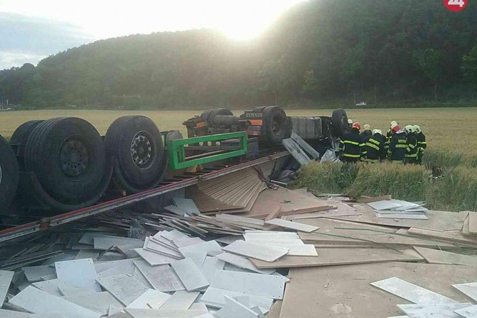 FOTO: Tragická dopravná nehoda v okrese Prievidza