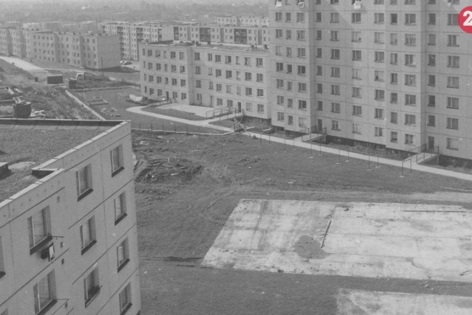 Obrazom: Archívne snímky najväčšieho sídliska v Prešove