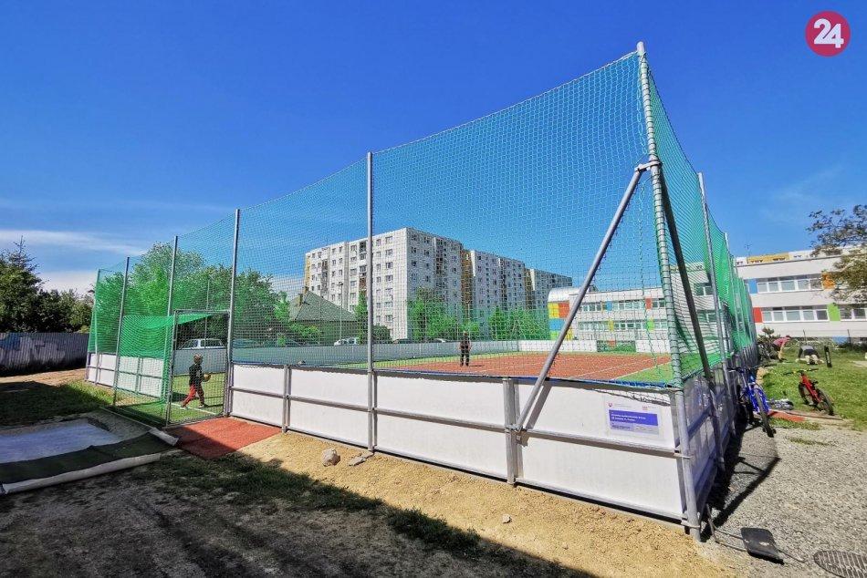 Obrazom: V Prešove máme nové multifunkčné ihrisko