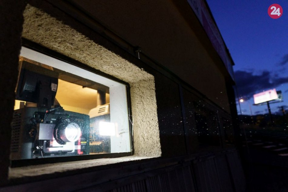 V OBRAZOCH: Filmové večery na bystrickom amfiteátri
