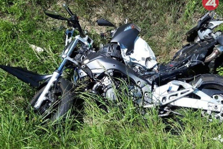 OBRAZOM: Medzi Visolajmi a Belušou vyhasol život motorkára (†49)