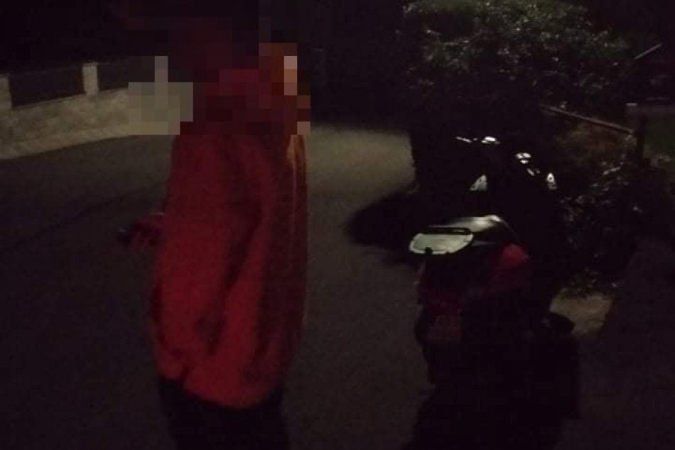 V OBRAZOCH: Opitý motocyklista strávil víkend v policajnej cele