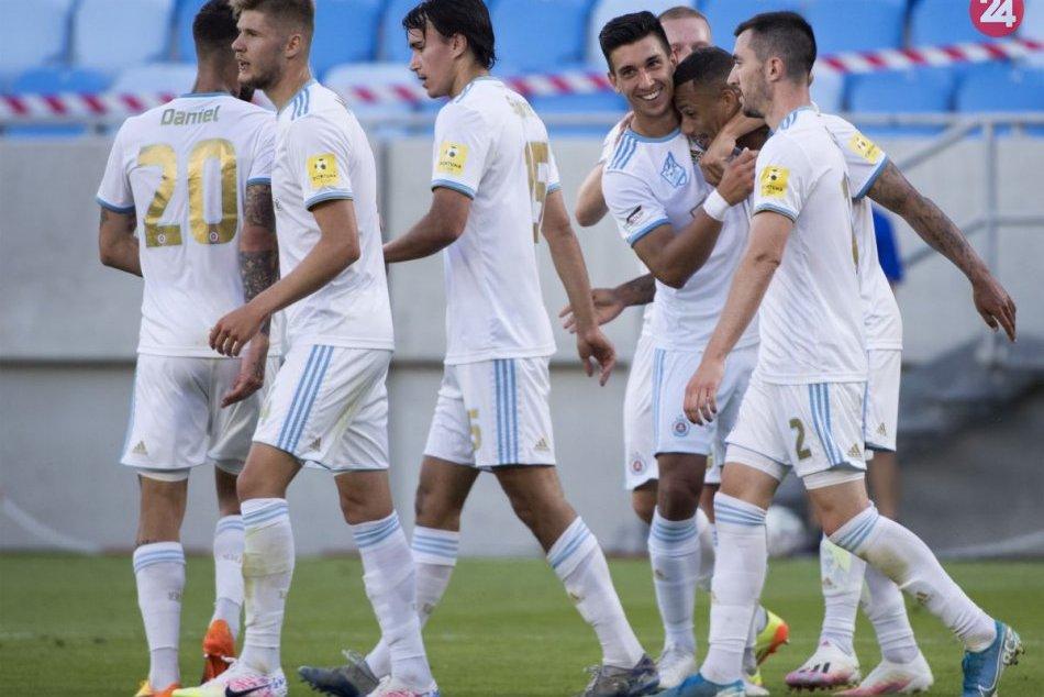 ŠK Slovan Bratislava – MFK Zemplín Michalovce 4:0 (2:0)
