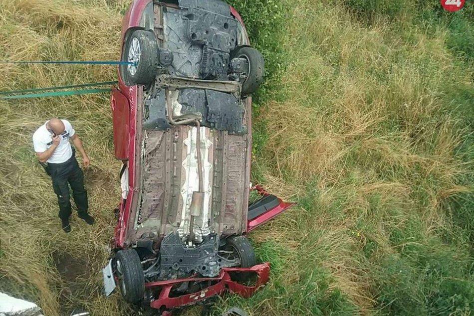 FOTO: Tragická nehoda pri Badíne