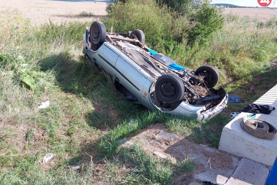 Tragická dopravná nehoda v okrese Trebišov