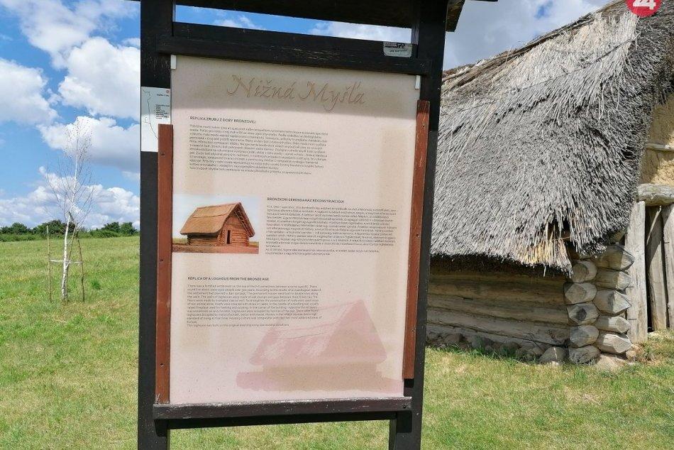 Nižná Myšľa - archeologický park