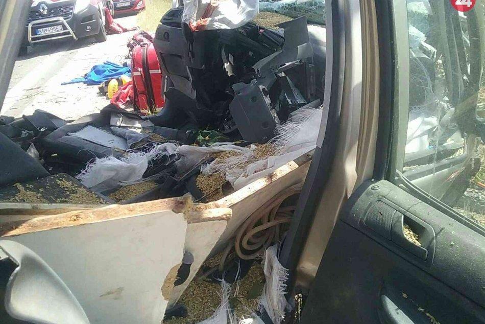 Vážna nehoda v Zlatnej na Ostrove