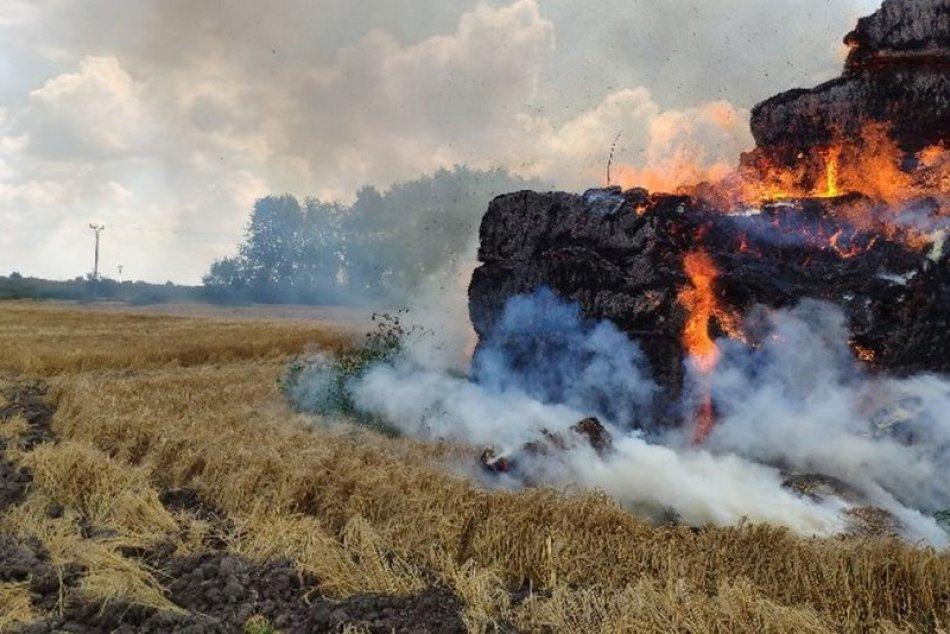 Požiar v Kolárove