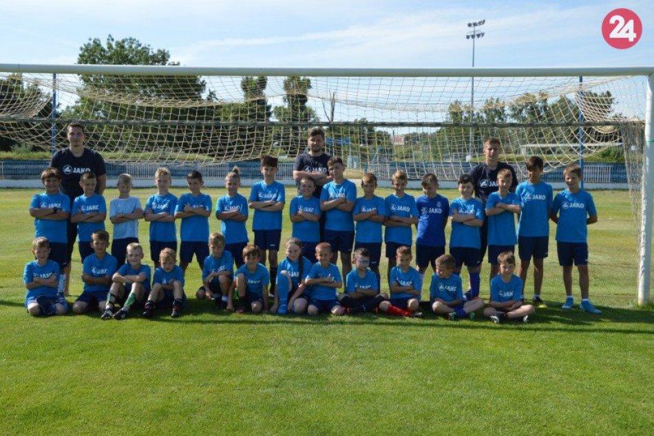 Denný futbalový tábor v Šali