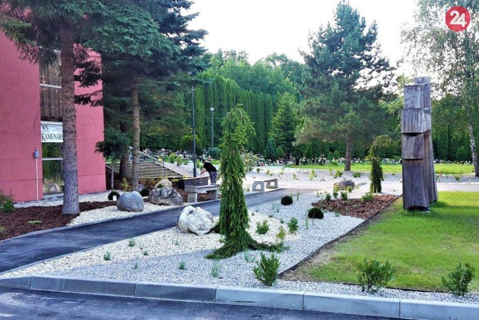 OBRAZOM: Nový cintorín v Jelšovom prešiel obnovou