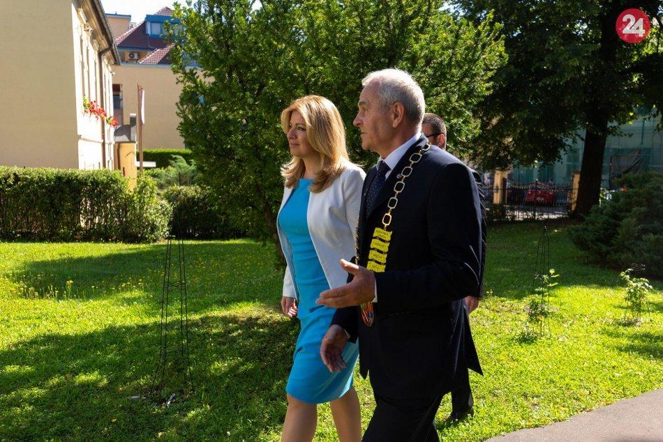 V OBRAZOCH: Prezidentka Čaputová navštívila Banskobystrický kraj