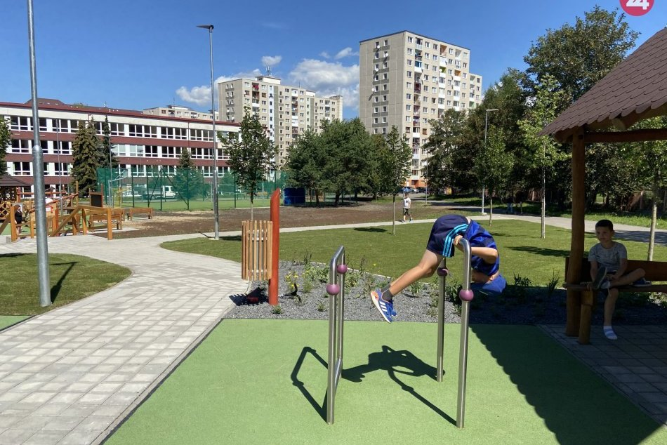 V Poprade otvorili nové multifunkčné ihrisko