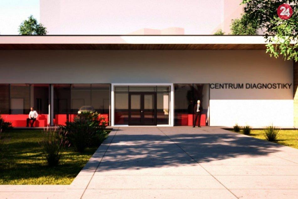 VIZUALIZÁCIE: Nové diagnostické centrum v považskobystrickej nemocnici