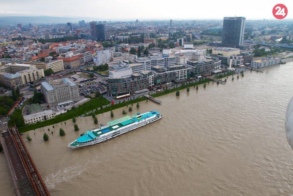 Povodeň v Bratislave a okolí, jún 2013