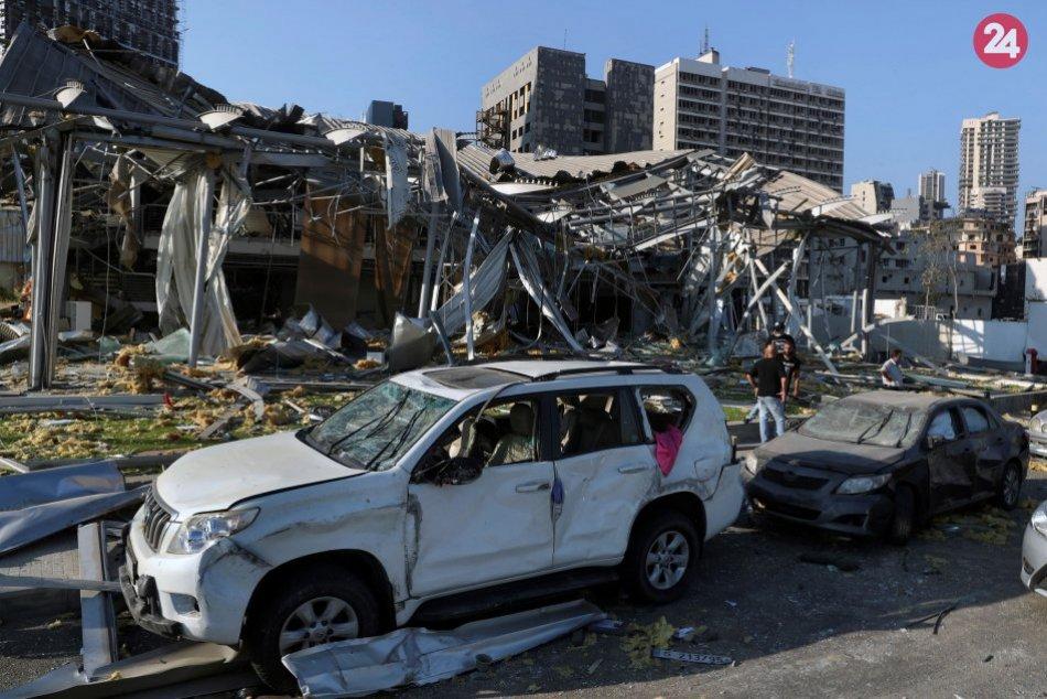 Libanon zasiahla katastrofa