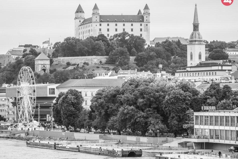 Zvýšená hladina Dunaja, 5.8.2020