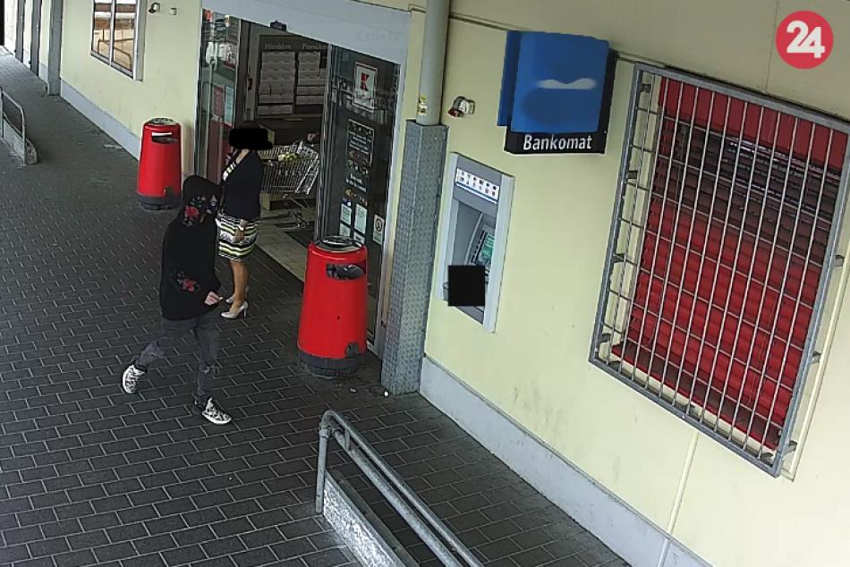 Vybral peniaze z bankomatu, no neboli jeho