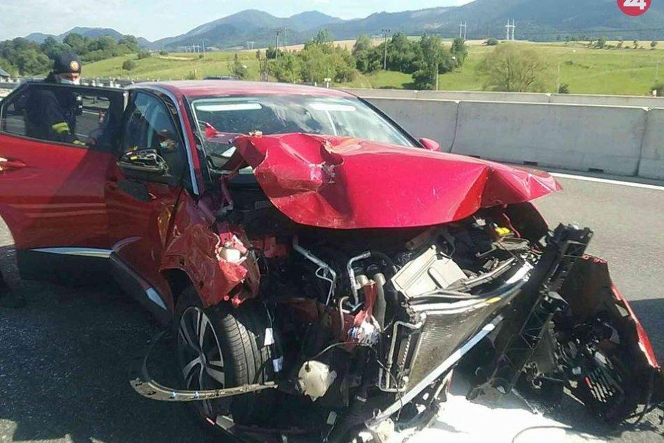 Nehoda na D1 pri Liptovskom Mikuláši