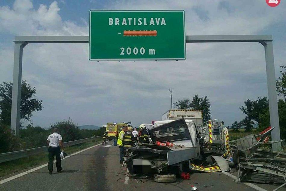Tragická nehoda na D2