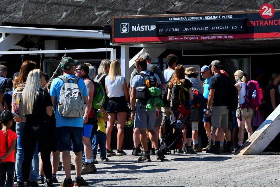 Tatry pod náporom turistov: Padol nový rekord