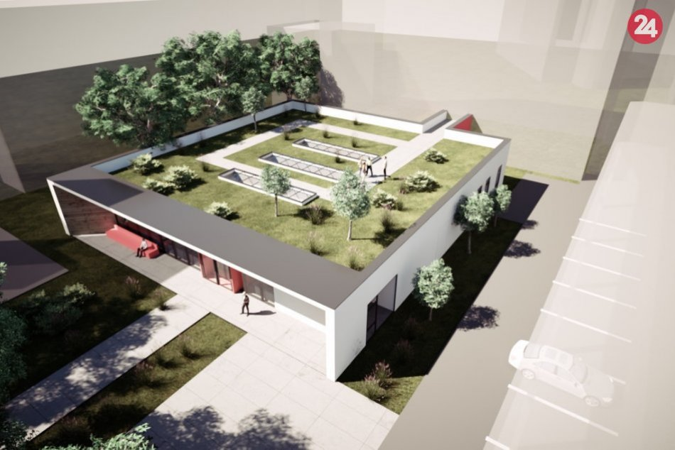 VIZUALIZÁCIE nového centra diagnostiky v nemocnici a miesto stavby