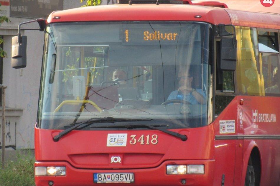 Obrazom: Ojazdené bratislavské autobusy Dopravný podnik premaľuje