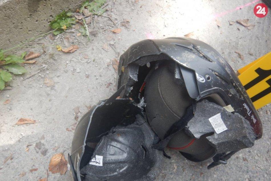 FOTO z tragickej nehody motocyklistu (†40) na Kukučínovej ulici v Považskej Byst