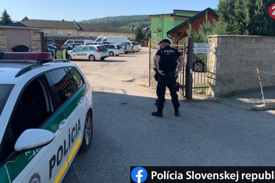 Zásah polície v Podhájskej
