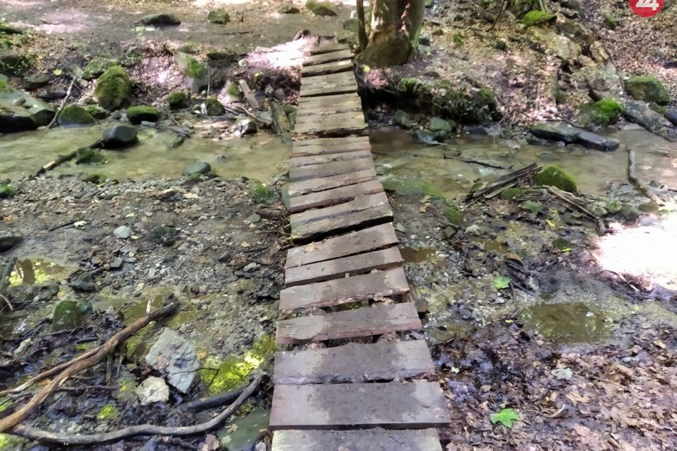 V OBRAZOCH: Krásy Králickej tiesňavy a vodopádu na fotkách