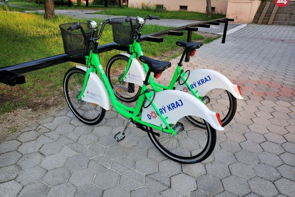 V OBRAZOCH: BBSK spúšťa v Lučenci prvý projekt zdieľaných bicyklov