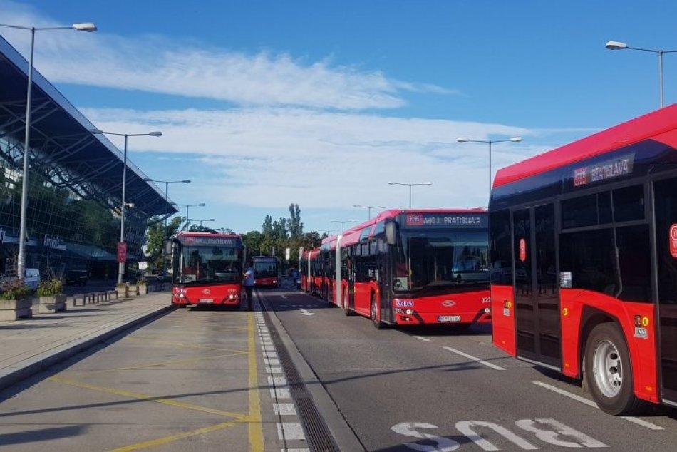 Najmodernejšie autobusy budú jazdiť aj na letisko