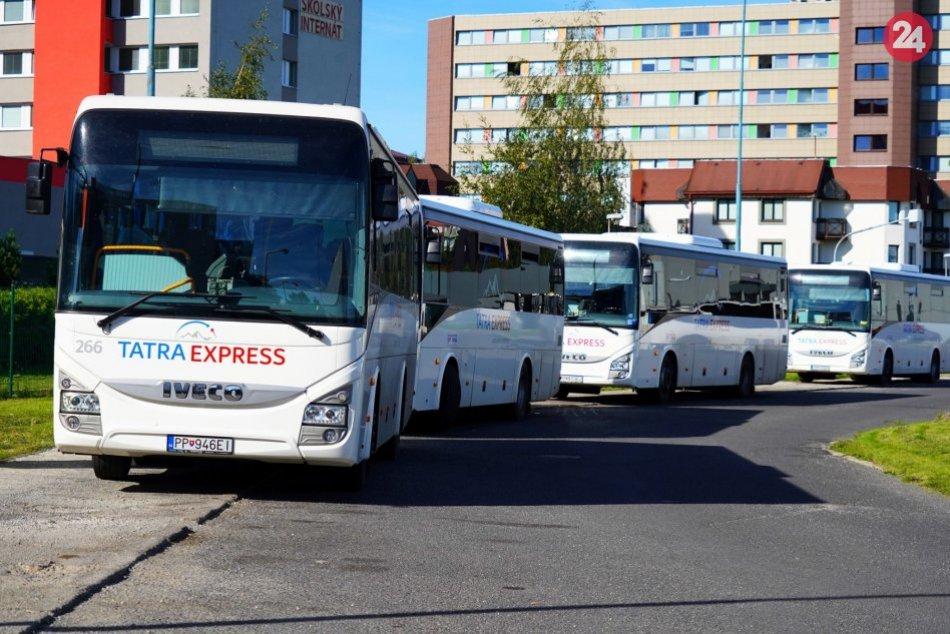 SAD Poprad sa pochválil novými autobusmi