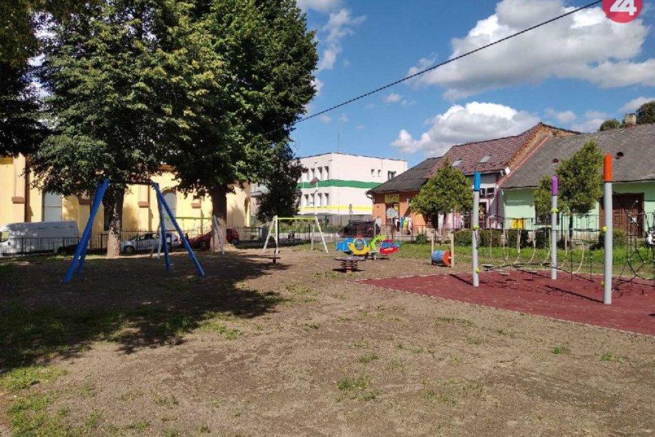 V Krompachoch pribudlo detské ihrisko