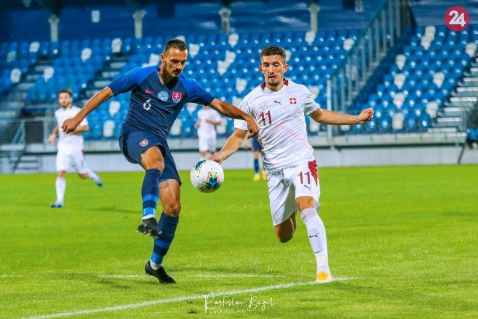 Kvalifikácia na ME 21: Slovensko – Švajčiarsko 1:2