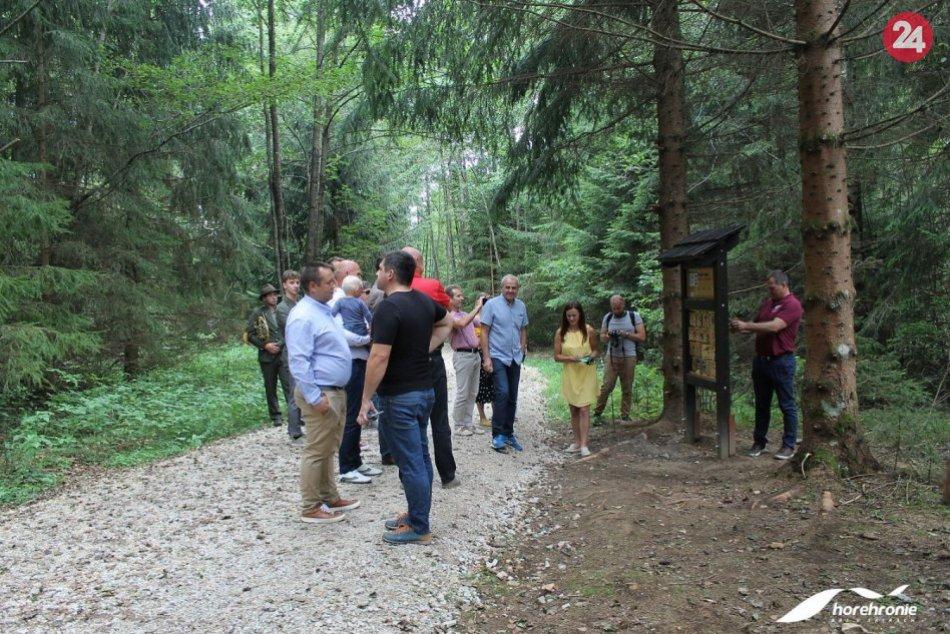V OBRAZOCH: Interaktívny náučný chodník na Táľoch