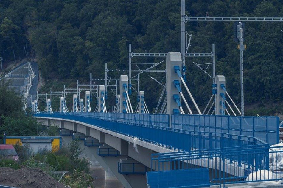 OBRAZOM: Nová železničná trať na Považí
